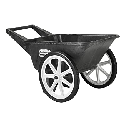 Rubbermaid Commercial Big Wheel Cart - Best Rubber Tires