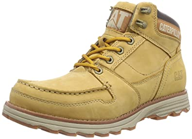 Cat Footwear Men's Receptive Cold Lined Chukka Boots Short Length Yellow  Size: 7