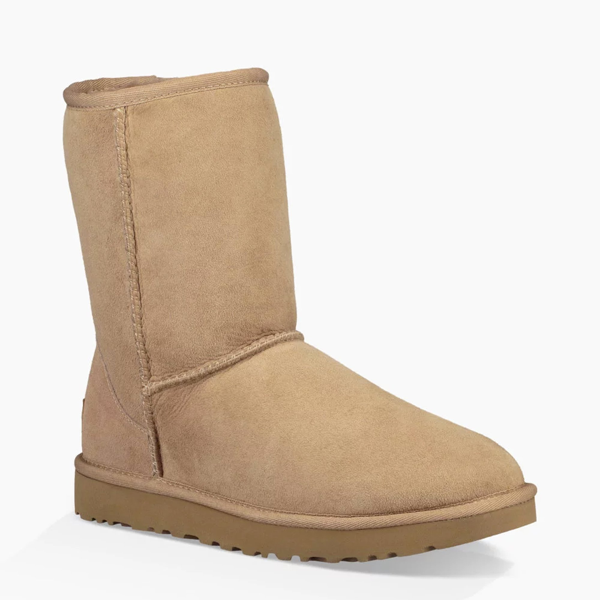 UGG New Women's Classic Short II Boot Fawn 7 by UGG