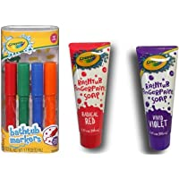 Crayola Bathtub Markers 4 count + Crayola Bathtub Fingerpaint Soap 2 ct