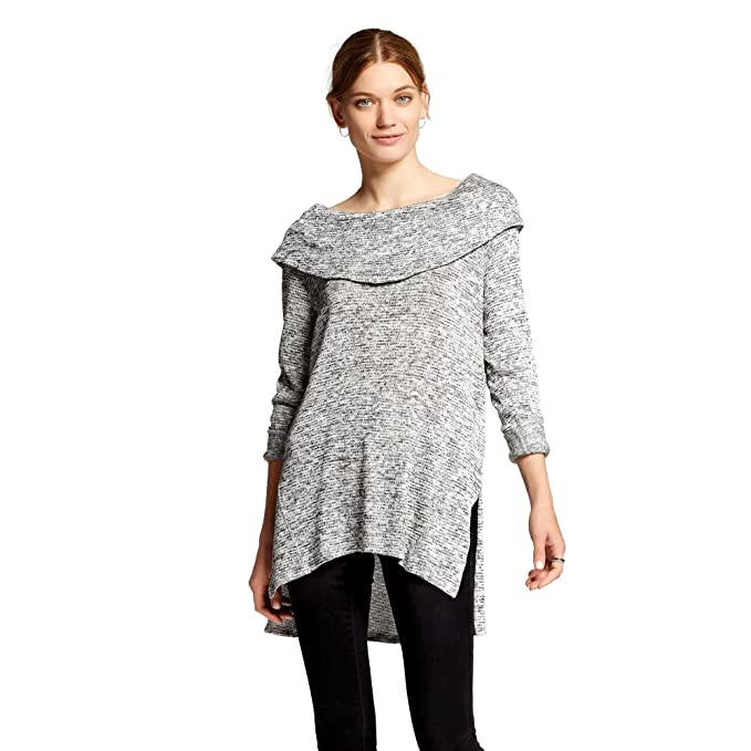 dbcc09815f3fe Mossimo Supply Co. Women s Cowl Neck Sweater (X-Small