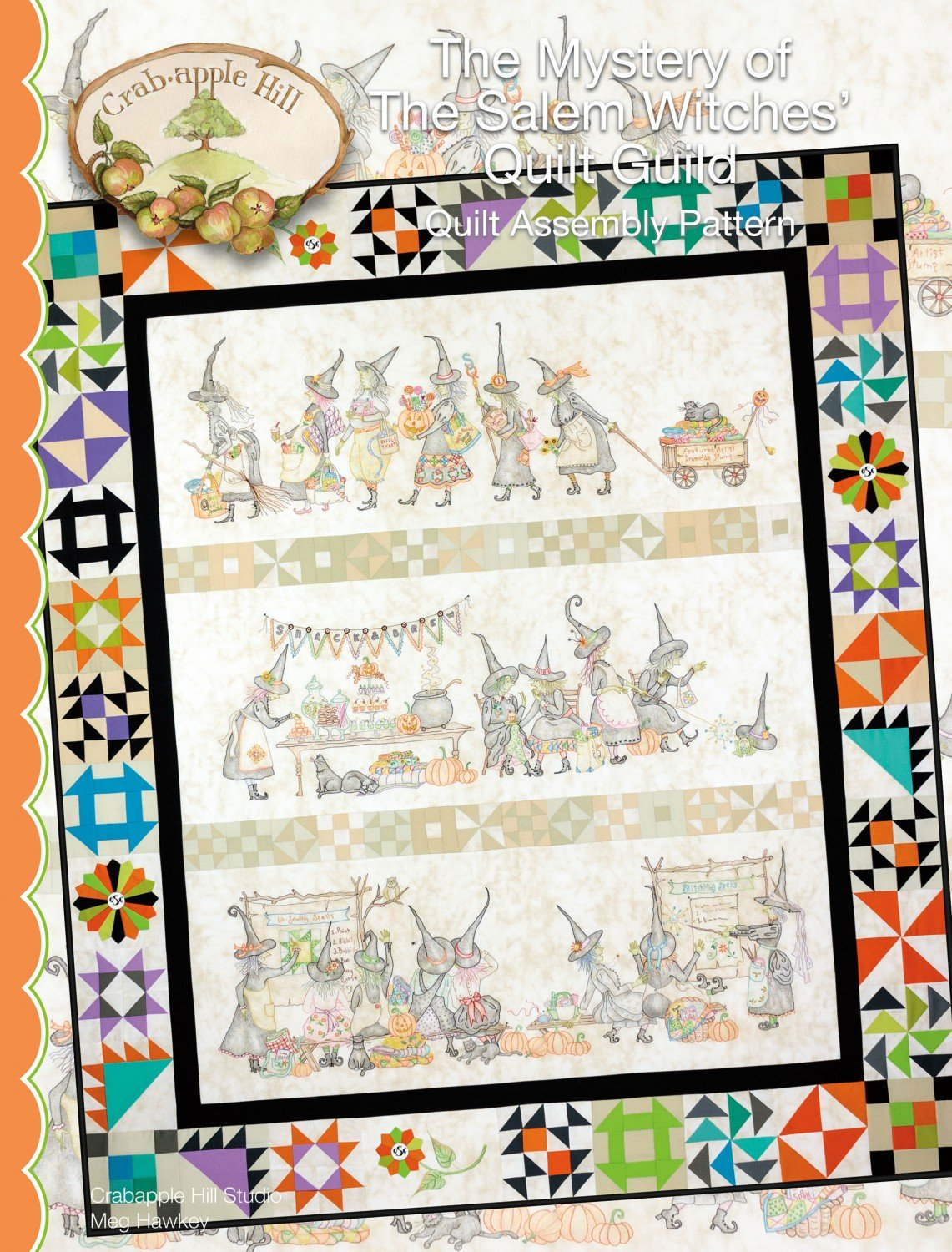 The Mystery of The Salem Witches' Quilt Guild Crab-apple Hill Studio