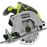 Bulk Packaged Ryobi P506 One+ Lithium Ion 18 Volt 5 1/2 Inch Cordless Circular Saw (Bare Tool, Battery and Charger Sold…