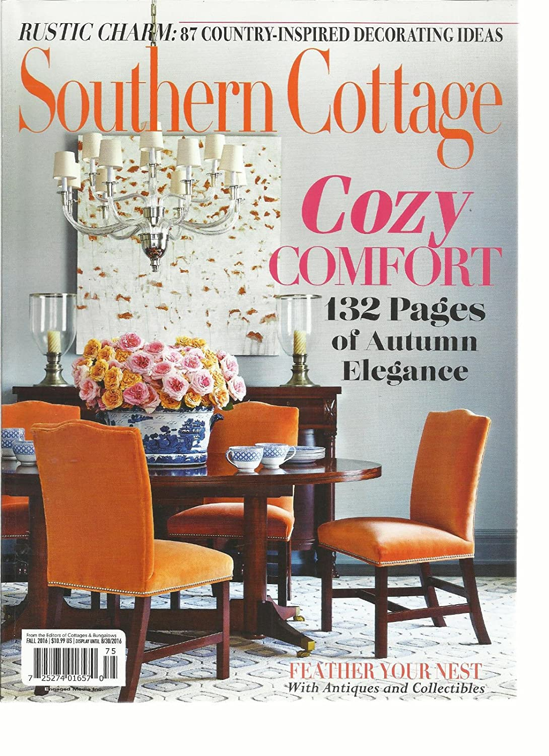SOUTHERN COTTAGE MAGAZINE FALL, 2016 87 COUNTRY INSPIRED DECORATING IDEAS s3457