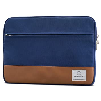 MacBook Pro 13 (2016) Hülle Blau - Johnny Urban Canvas Laptop Sleeve  Laptoptasche Hülle cb496a2e8d6