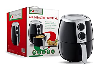 Amazon De Magnani Air Health Fritteuse 1500 W 3 5 L Schwarz