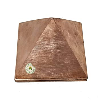 Amazon com: 3 Layered Pure Copper Pyramid for Positive Vibes