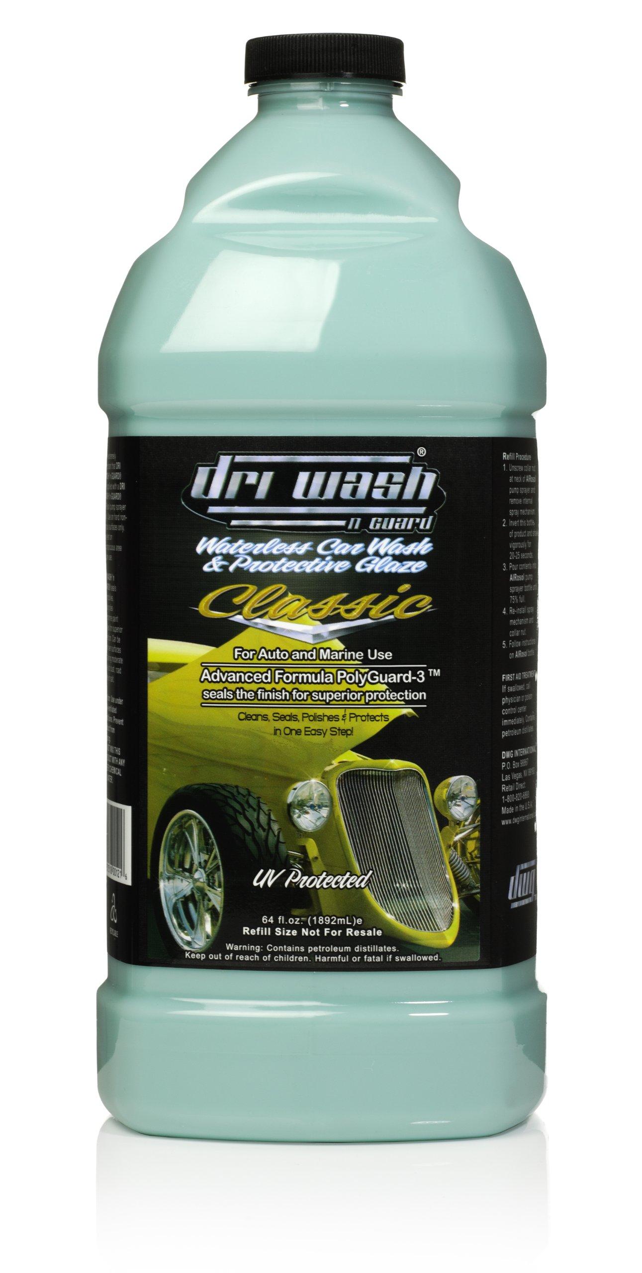 64oz Dri Wash 'n Guard Classic Waterless Car Wash