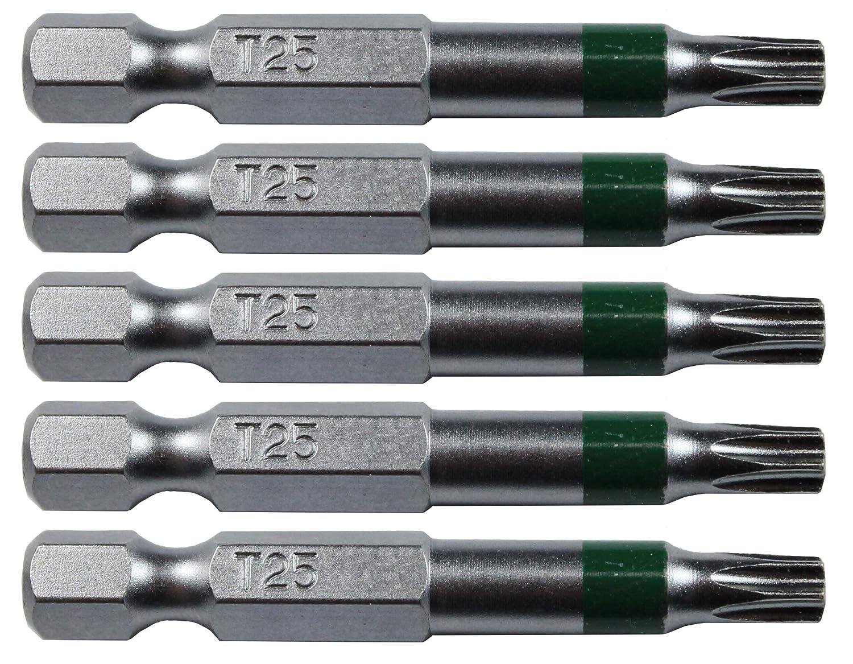 T-20 Torx//Star Driver Bit T20 x 3-1//2 Torx//Star Drive Quick Change Shank Bit for Screws and Fasteners Requiring T20 T20 1 PACK Size Long Bits T-20