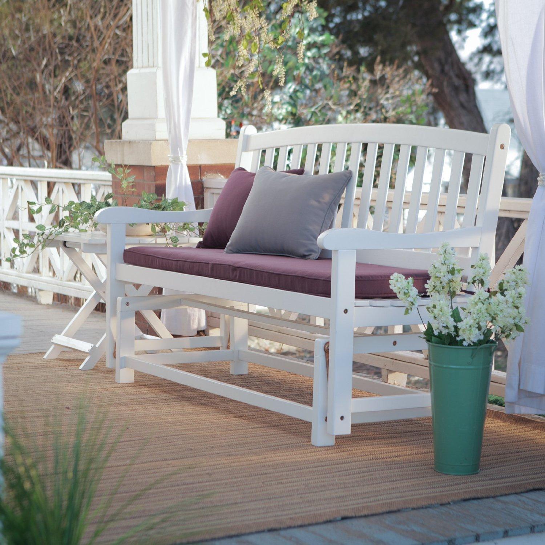 Amazon Premium Patio Chairs Loveseat Modern Outdoor Wood