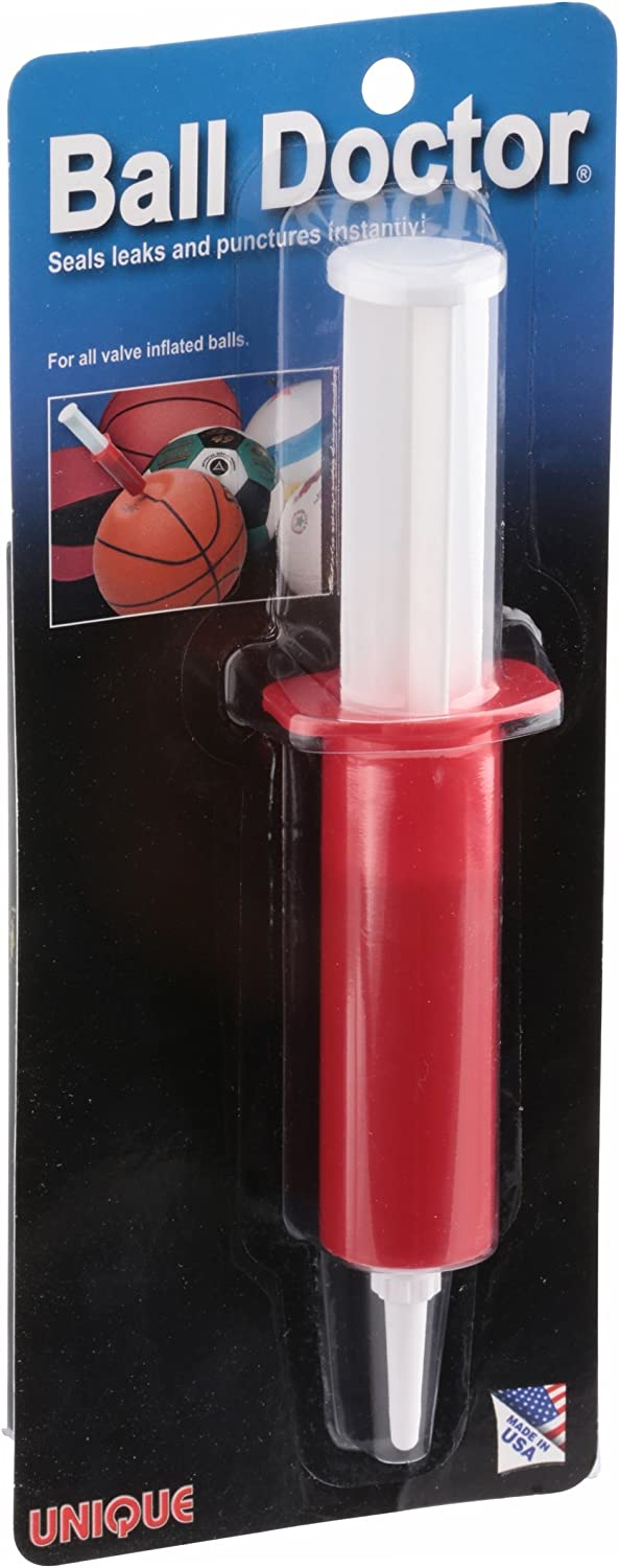 Unique Sports Ball Doctor Leak And Flat Fix-Repair Kit