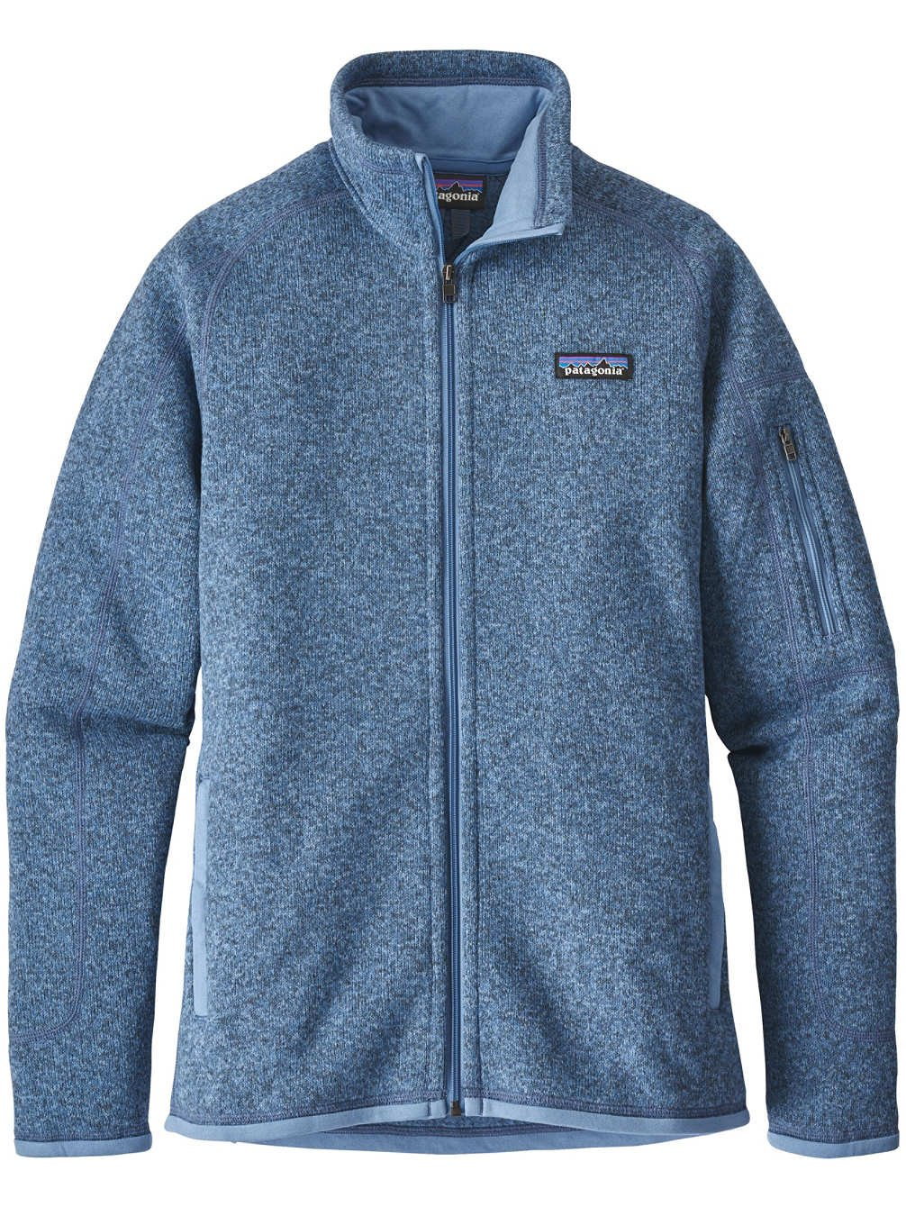Patagonia Women's Better Sweater Jacket Railroad Blue (Medium, Railroad Blue)