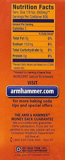 Baking Soda Ingredients