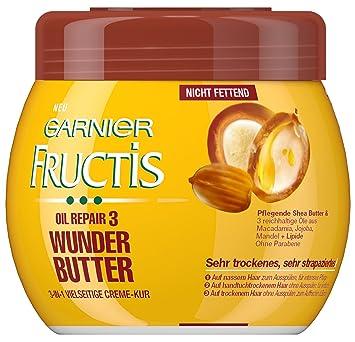garnier fructis oil repair 3 wunder butter creme kur haarkur fà r