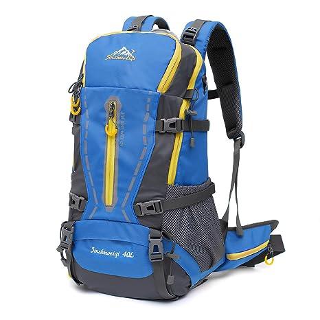 KUYIYILO Mochila de 40 litros para senderismo y mochila, para acampada, senderismo, caza