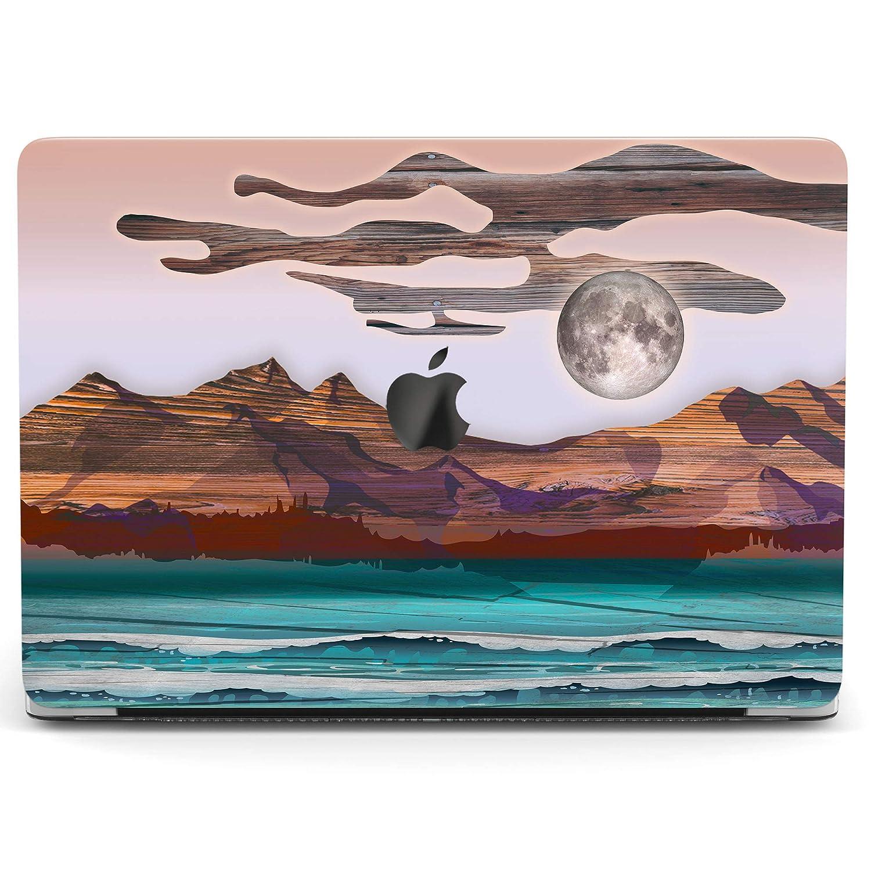 Nature Macbook 12 Pro 13 15 2018 Full Printed Case Lake Macbook Air 11 13 Cover