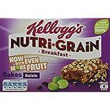 Nutri-Grain Elevenses Breakfast Raisin Bakes Bars, 6-Piece (Pack of 6)