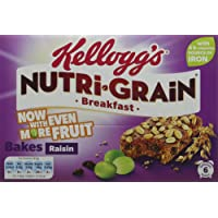 Nutri-Grain Elevenses Breakfast Raisin Bakes Bars, 6-Piece, Pack of 6