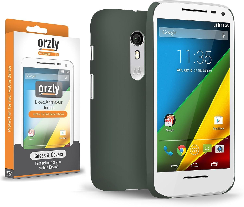 Orzly® - Exec-Armour Case para MOTO G3 SmartPhone / Teléfono Móvil ...