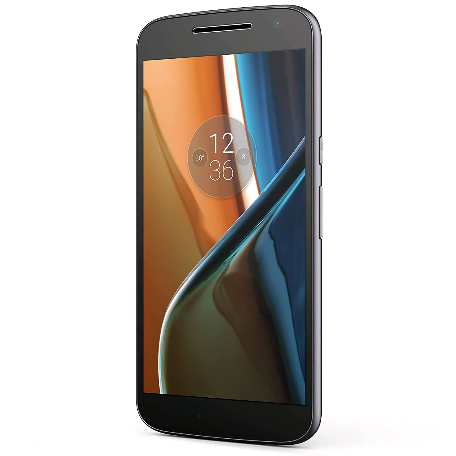 "Motorola Moto G4 (16GB) XT1621 GSM Factory Unlocked 4G LTE Phone - 5.5"" Screen (International Version - No Warranty) - Black"