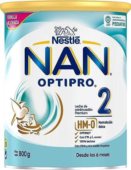 NAN OPTIPRO 2 - Leche de continuación en polvo - Fórmula para bebé ...