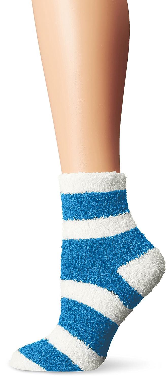 Life is good Women's Snuggle Bold Striped Crew Socks