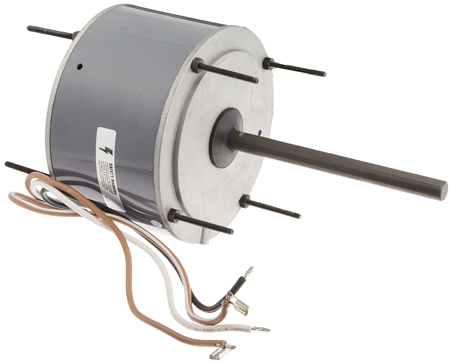 208-230 Volts Reversible Rotation 1075 RPM Totally Enclosed Sleeve Bearing Fasco D919 5.6-Inch Condenser Fan Motor 1//8 HP 1 Speed.9 Amps