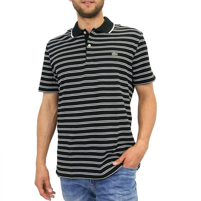 Lacoste - Polo para Hombre Regular Fit (ph6997 - 00), Negro/Blanco ...