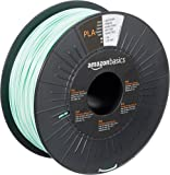 AmazonBasics PLA 3D Printer Filament, 1.75mm, Light Green, 1 kg Spool