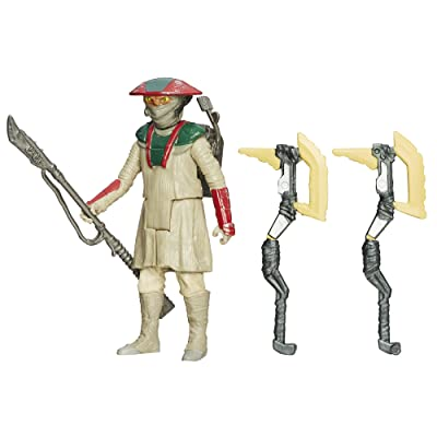 Star Wars The Force Awakens 3.75-Inch Figure Desert Mission Constable Zuvio: Toys & Games