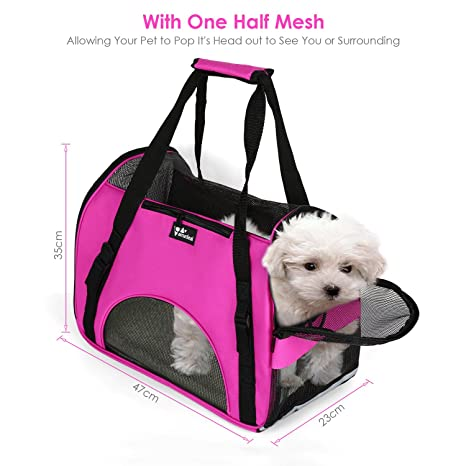 Amzdeal Haustiertasche Transporttasche Tragetasche perro & gato: Amazon.es: Productos para mascotas