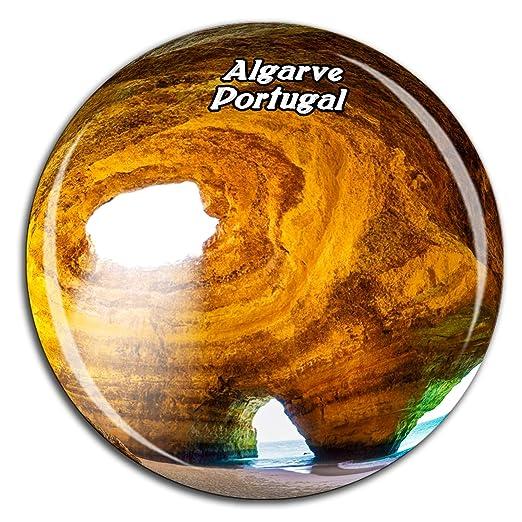 Weekino Portimao Portugal Imán de Nevera Cristal de Cristal 3D ...