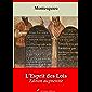 De l'esprit des lois | Edition intégrale et augmentée: Nouvelle édition 2019 sans DRM (French Edition)