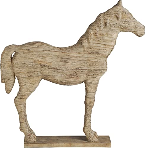 A B Home 66638 Polyresin Horse, 19 by 3 by 19.5-Inch