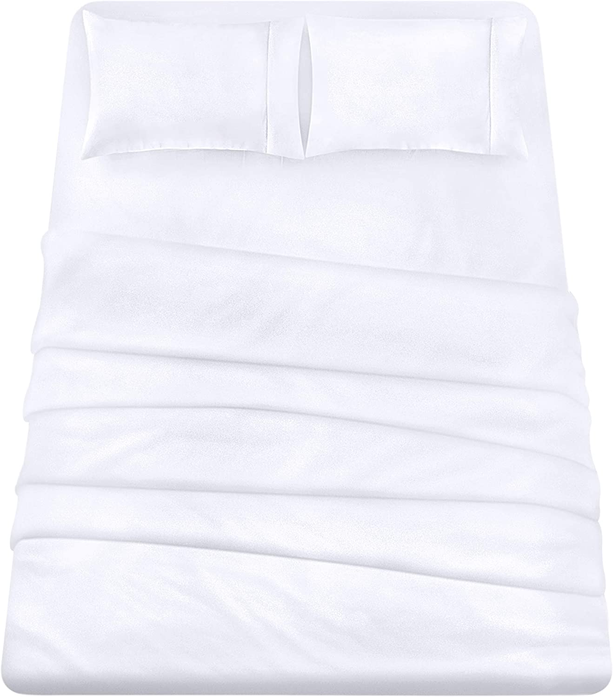 Utopia Bedding 4-Piece Queen Bed Sheet Set (White)