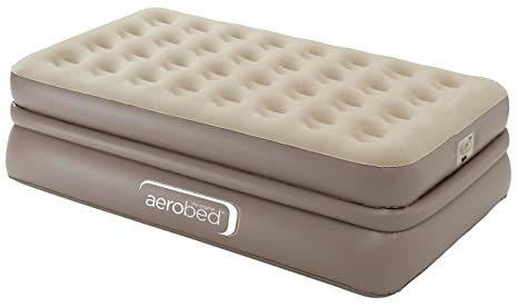 Aerobed colchón Hinchable Unisex Luxury único, Color Beige ...