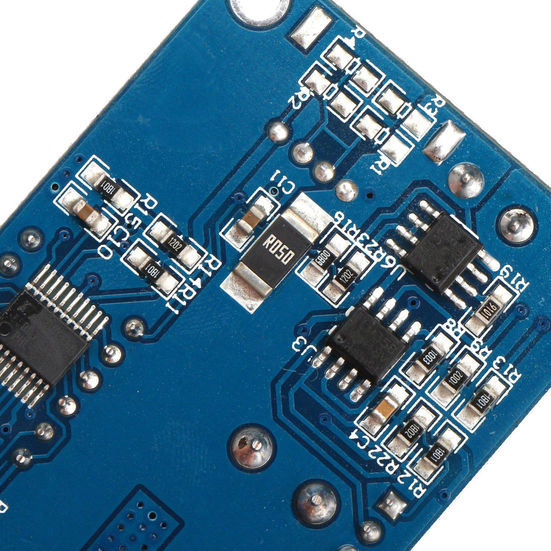 5V Buck Converter USB Output for LED Driver DROK LM2596 DC Step Down Voltage Regulator 5-36V 24V 12V to 1.25-32V 5V 5A 75W Reducer Module CC CV Volt Transformer Board with LED Display