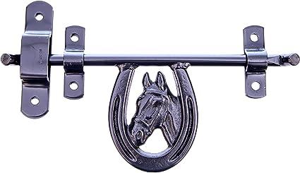 Intrepid International Horse Shoe Barn Door Latch