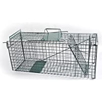 Humane Live Animal Trap Possum Rat Feral Cat Rabbit Hare Catcher Folding Cage