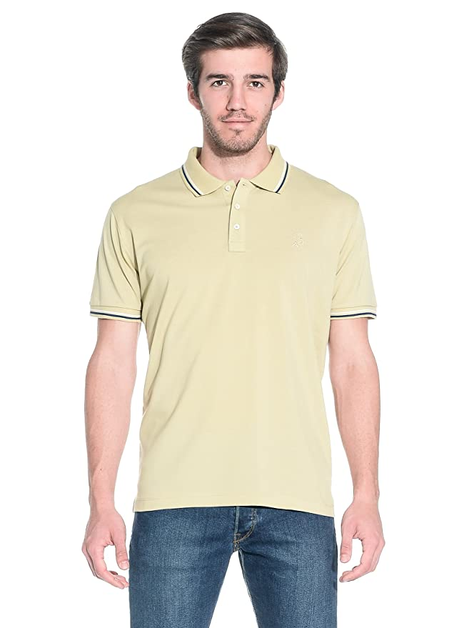 Trussardi Action Polo Beige L: Amazon.es: Ropa y accesorios