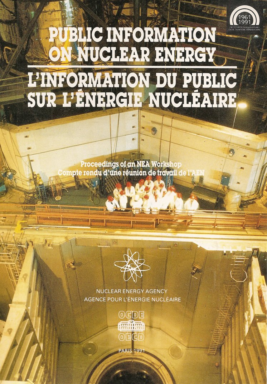 Public Information on Nuclear Energy (Anglais) Broché – 1 mars 1991 Nuclear Energy Agency 9264033416 Science/Mathematics Sciences humaines