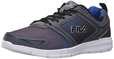 f95f679dbfff Fila Men s Windstar 2 Running Shoe Castlerock Monument Prince Blue 9 ...