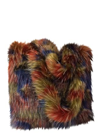 0e87949adb9 Amazon.com   CHC-Beverly Hills Luxurious Signature Fluffy Fur Weekender Bag  Multi Colors Large Overnight Duffel One Size   Travel Duffels