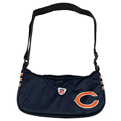 f1ff6abd423 Amazon.com : Littlearth NFL Team Jersey Purse (Chicago Bears ...