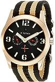 Titan Purple Analog Black Dial Men's Watch -  9473AP01J