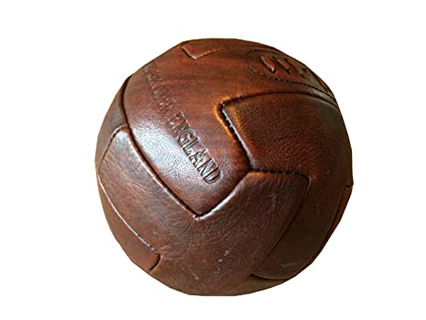 John Shooter Ltd - Balón de fútbol antiguo (piel): Amazon.es ...
