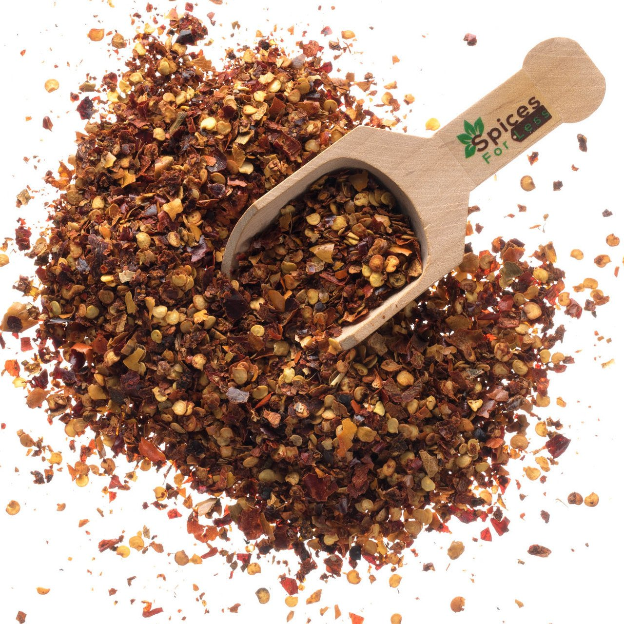 Crushed Red Pepper - 2 LBS - Resealable Bag - Premium Quality by Spices For Less (Image #1)