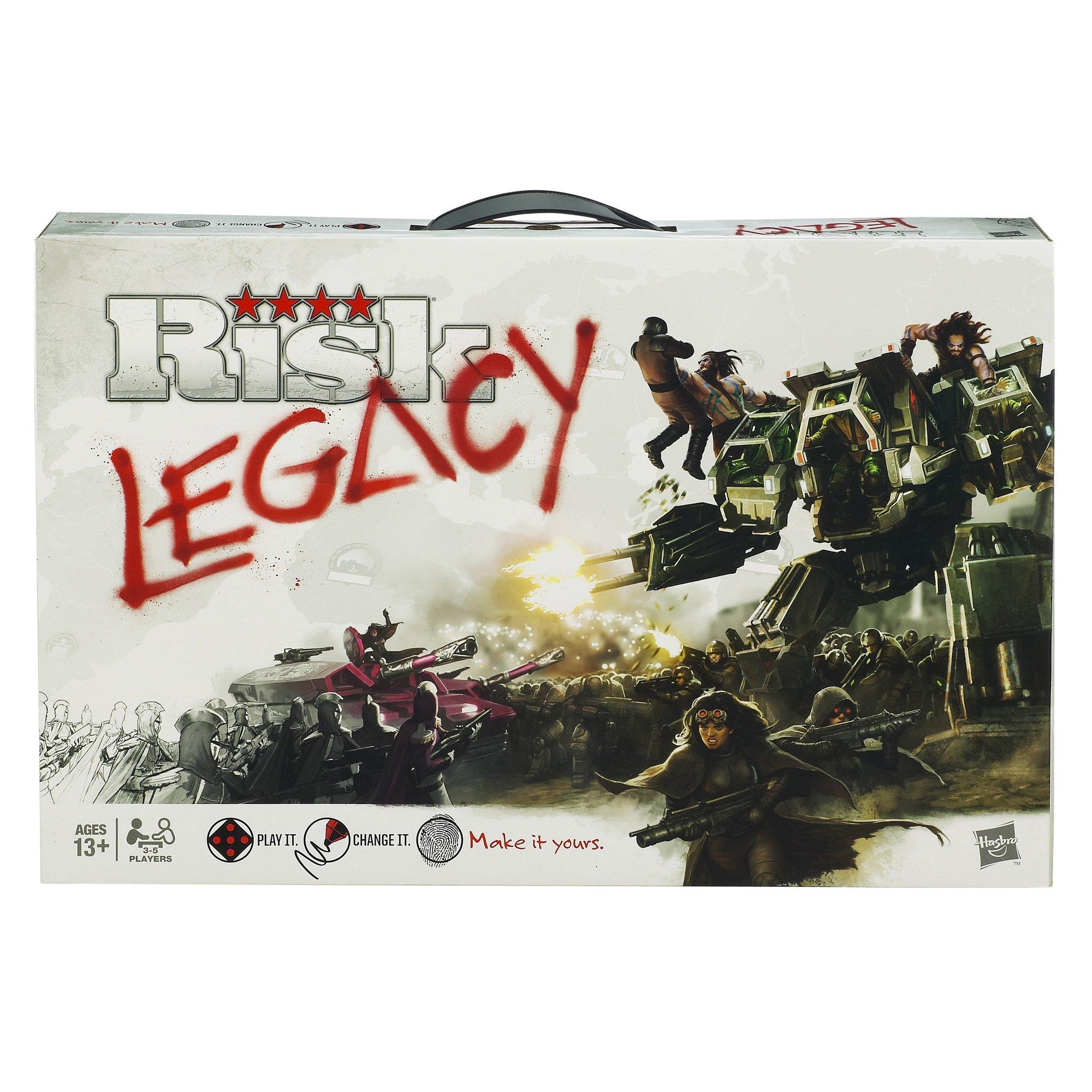 Avalon Hill DIA452334 Risk Legacy Game, Multicolor
