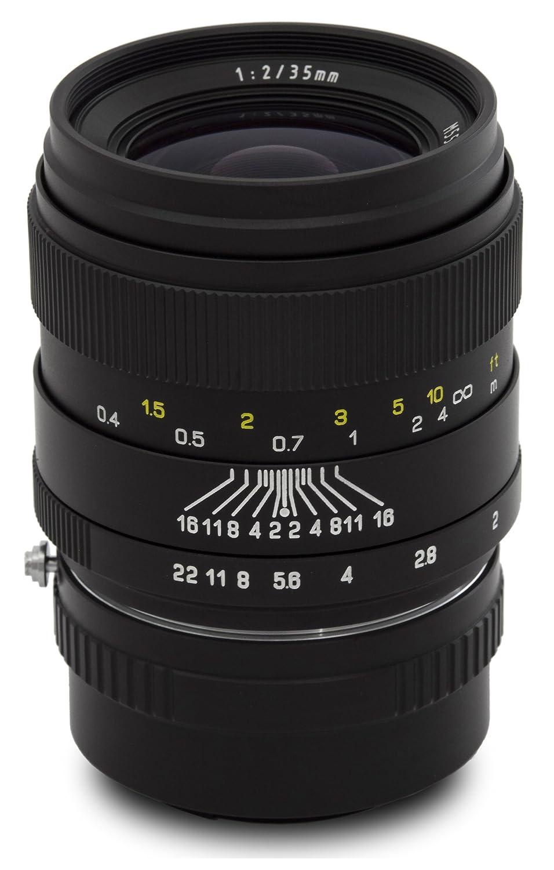 Oshiro 35 mm f / 2 LD UNC ALワイド角度フルフレームPrime Lens for Nikon 1 j5 , j4 , j3 , j2 , s2 , s1 , v3 , v2 , v1、aw1デジタルミラーレスカメラ   B011A2QNZC