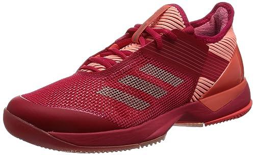 adidas Adizero Ubersonic 3 W BY1616, Zapatillas de Tenis para Mujer, Rosa (Rosene/Grmeva/Corsen), 40 1/3 EU: Amazon.es: Zapatos y complementos